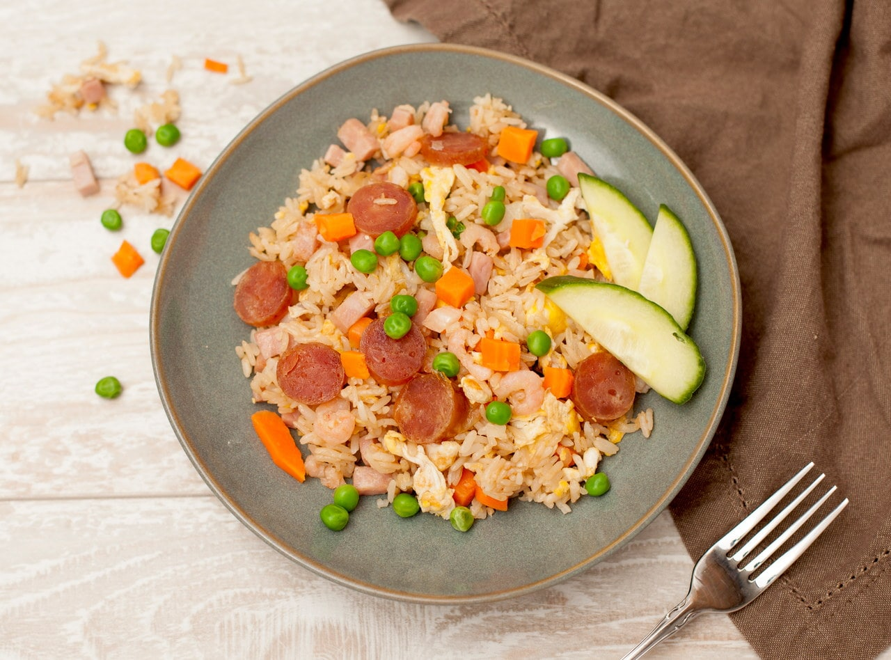 So Good Kid's Fried Rice by Chef Tanya Jirapol