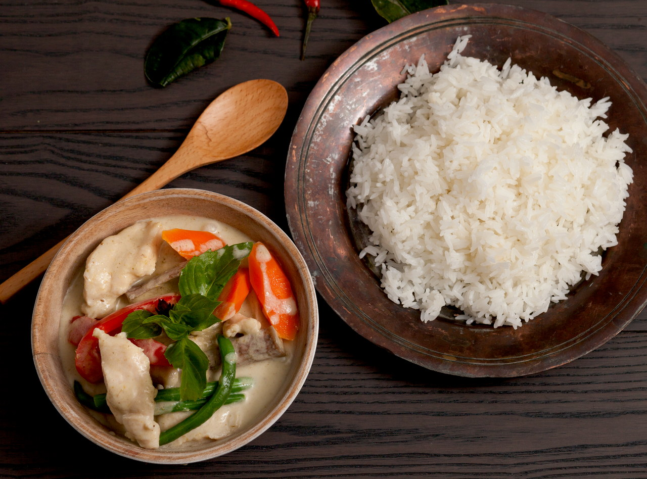 Green Curry Chicken by Chef Tanya Jirapol