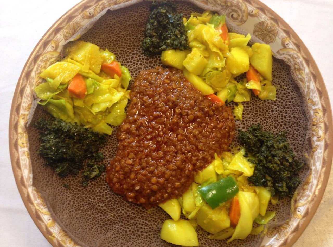 Geni's Ethiopian PopUp - Amazon by Chef Meeraf Mamo