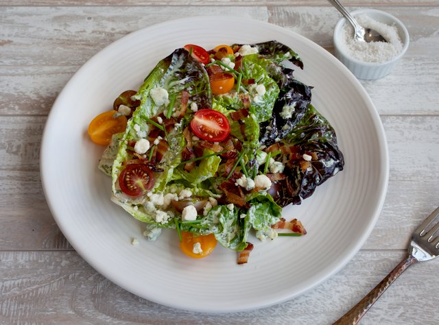 Little Gems Wedge Salad by Chef Ericka Burke
