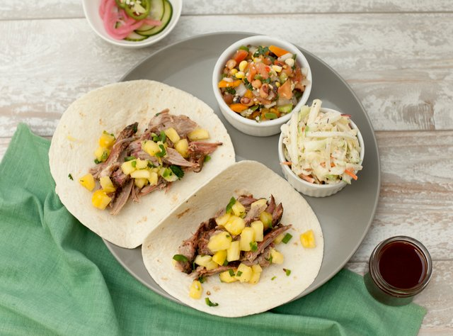 BBQ Pork Tacos by Chef Eric Mendel