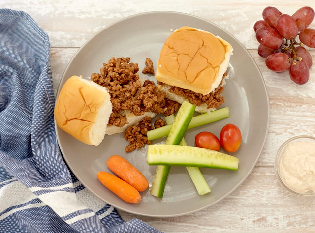 Kid's Turkey Sloppy Joe by Chef Jenn Strange