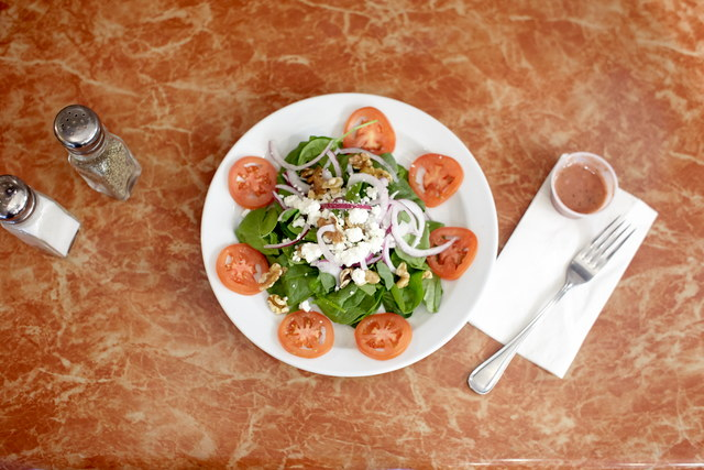 Spinach Salad with Raspberry Vinaigrette (serves 12) by Chef Amir Razzaghi