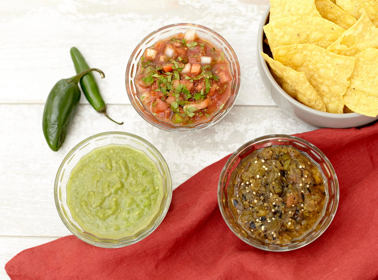 Traditional Salsa Trio by Chefs Frankie & Edgar