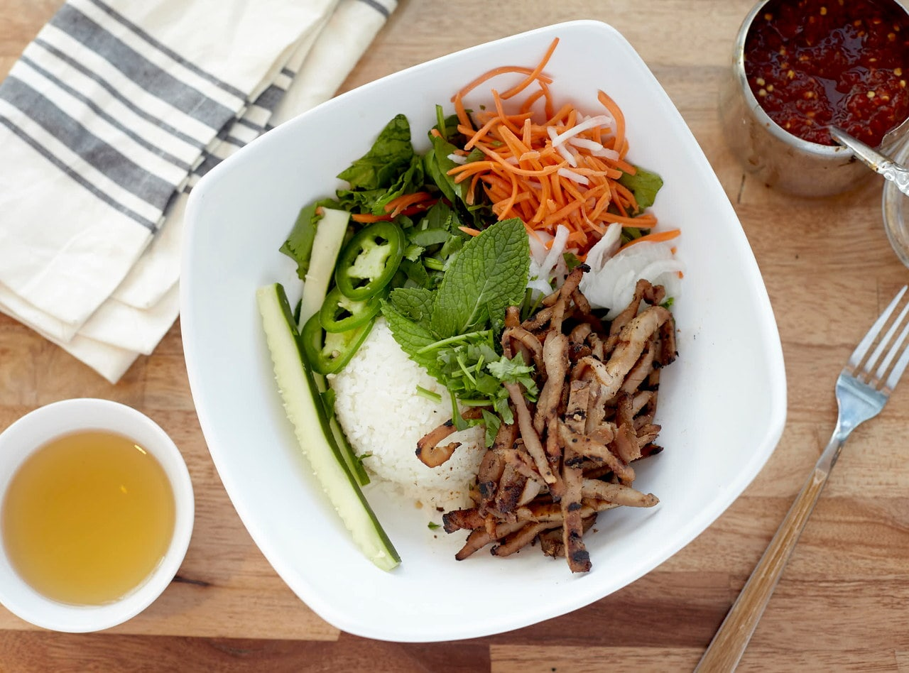 Pork Rice Bowl by Chef John Tran