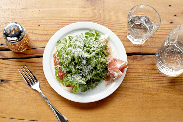 Arugula Salad with Prosciutto by Chef Ethan Stowell