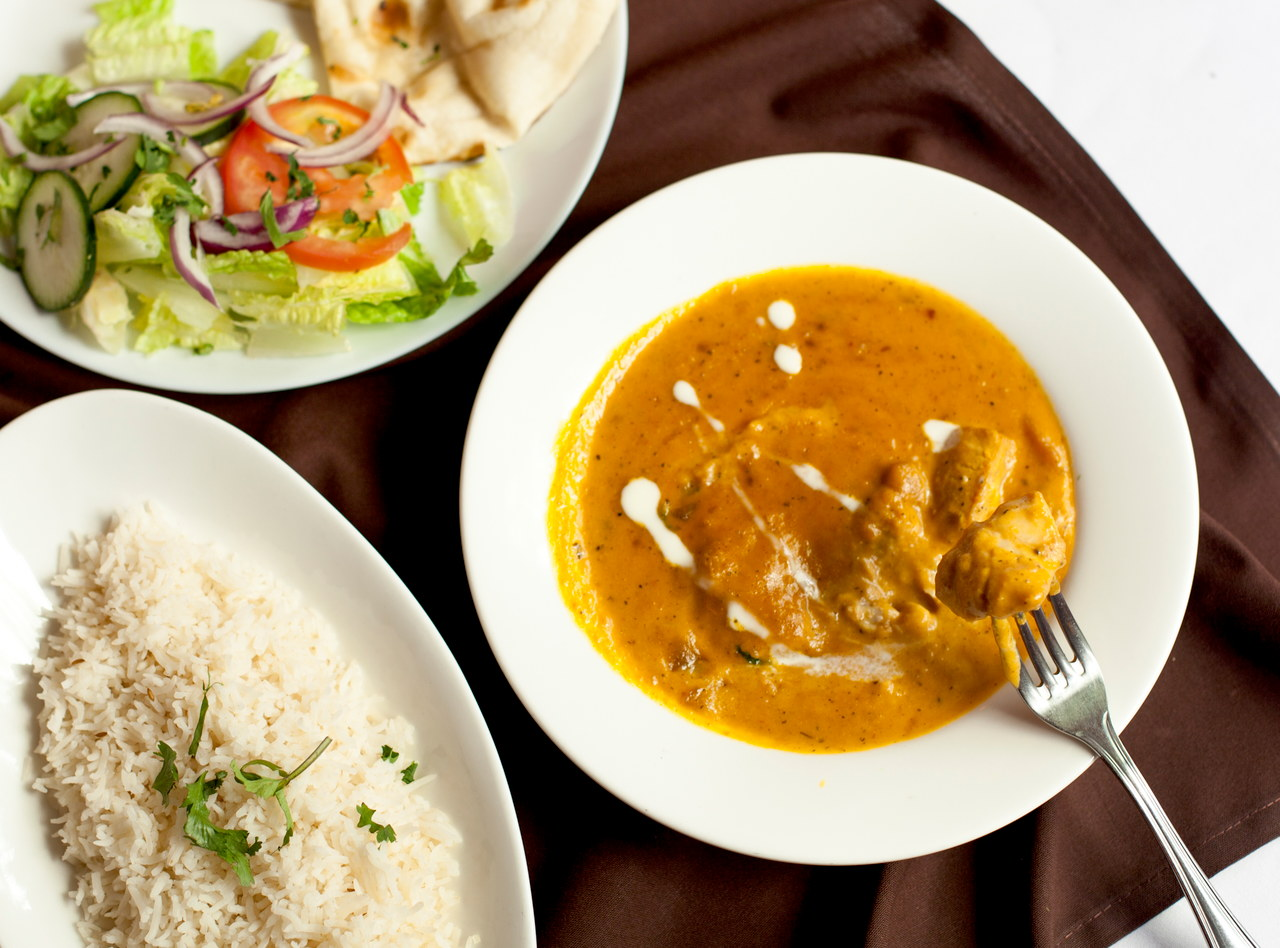 Mango Curry Chicken by Chef Baldev S. Manhani