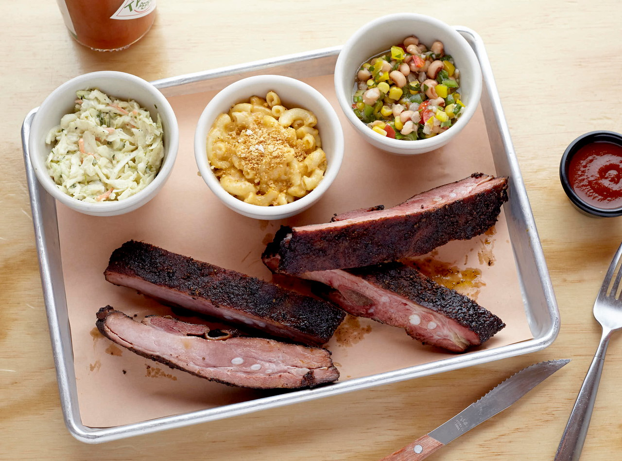 BBQ Ribs Plate by Chef Jack Timmons