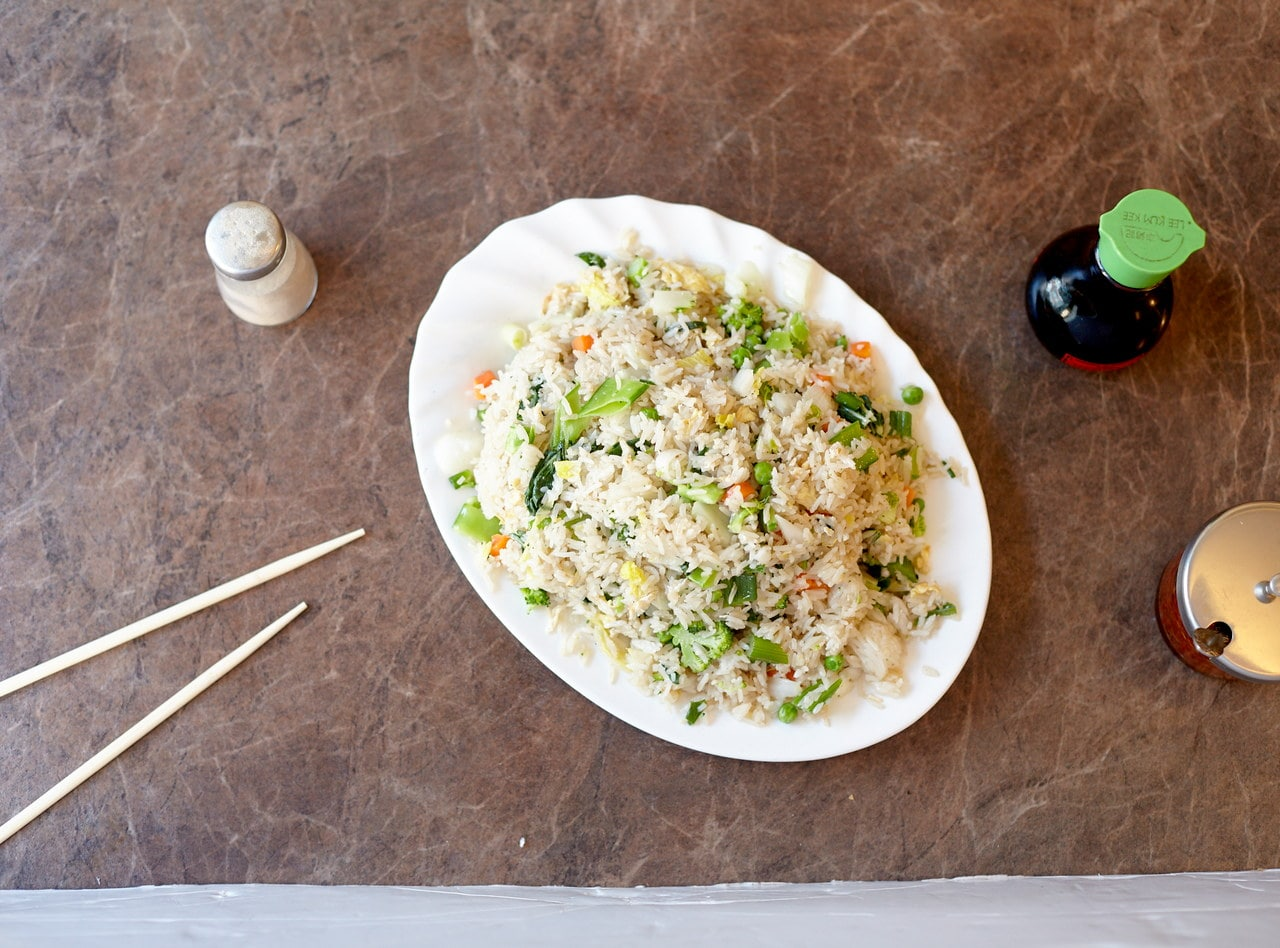 Vegetarian Fried Rice by Chef Han Ma