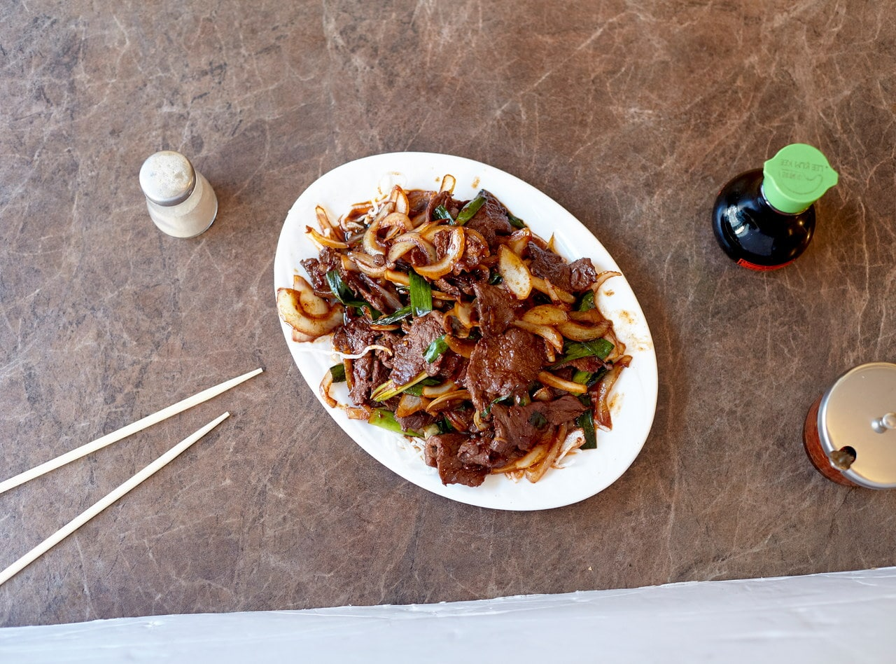 Mongolian Beef by Chef Han Ma