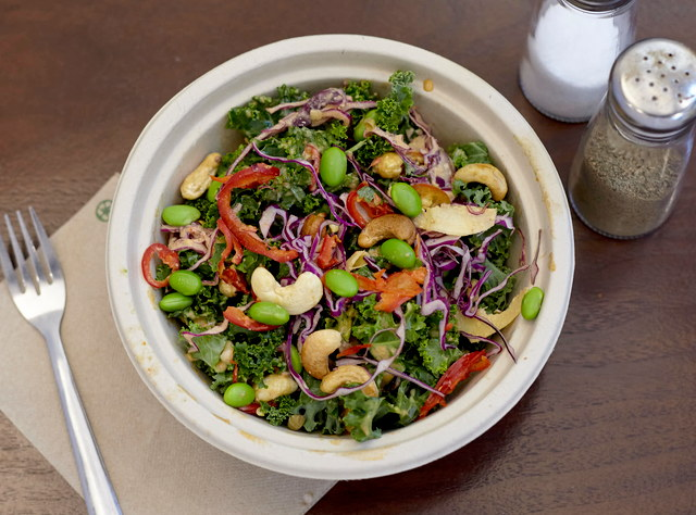 Sweetgrass Thai Kale Salad with Chicken by Sweetgrass