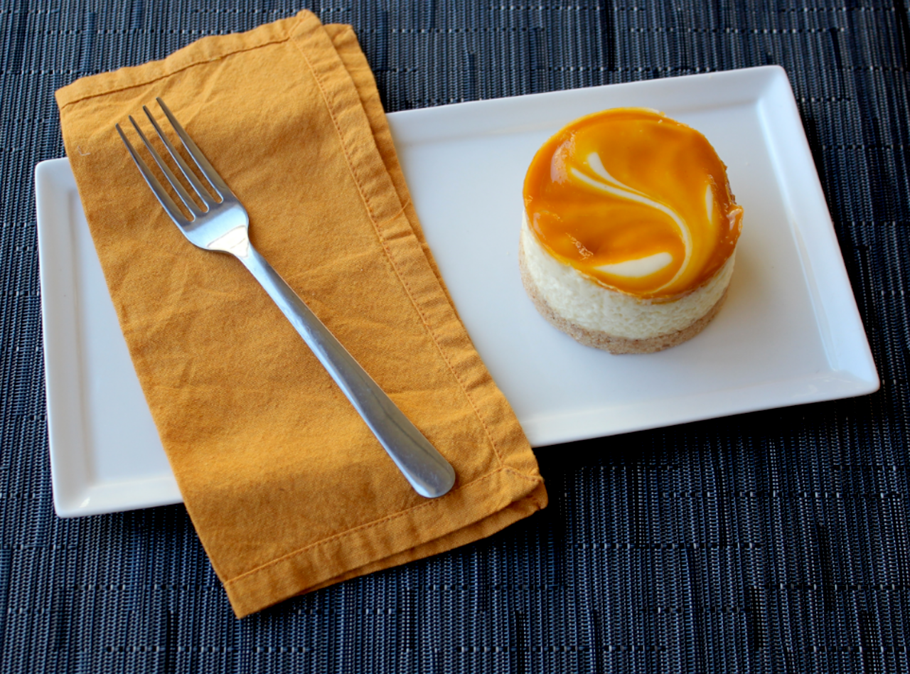 Mango Calamansi Cheesecake Mini by Chef Chera Amlag