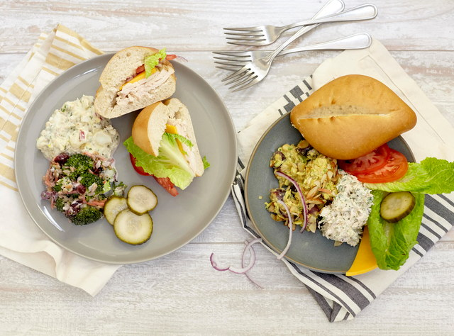 Build-Your-Own Sandwich Bar with Chickpea Salad by Chef Jenn Strange