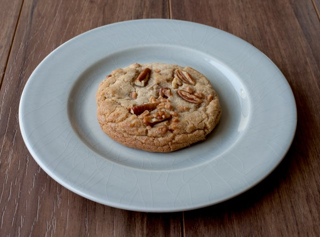 Brown Butter Toffee Pecan Cookie by Chef Keith Hubrath