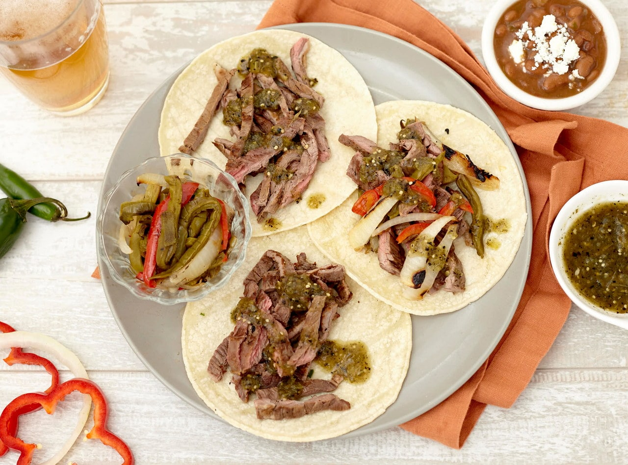 Carne Asada Tacos Boxed Lunch by Chefs Frankie & Edgar